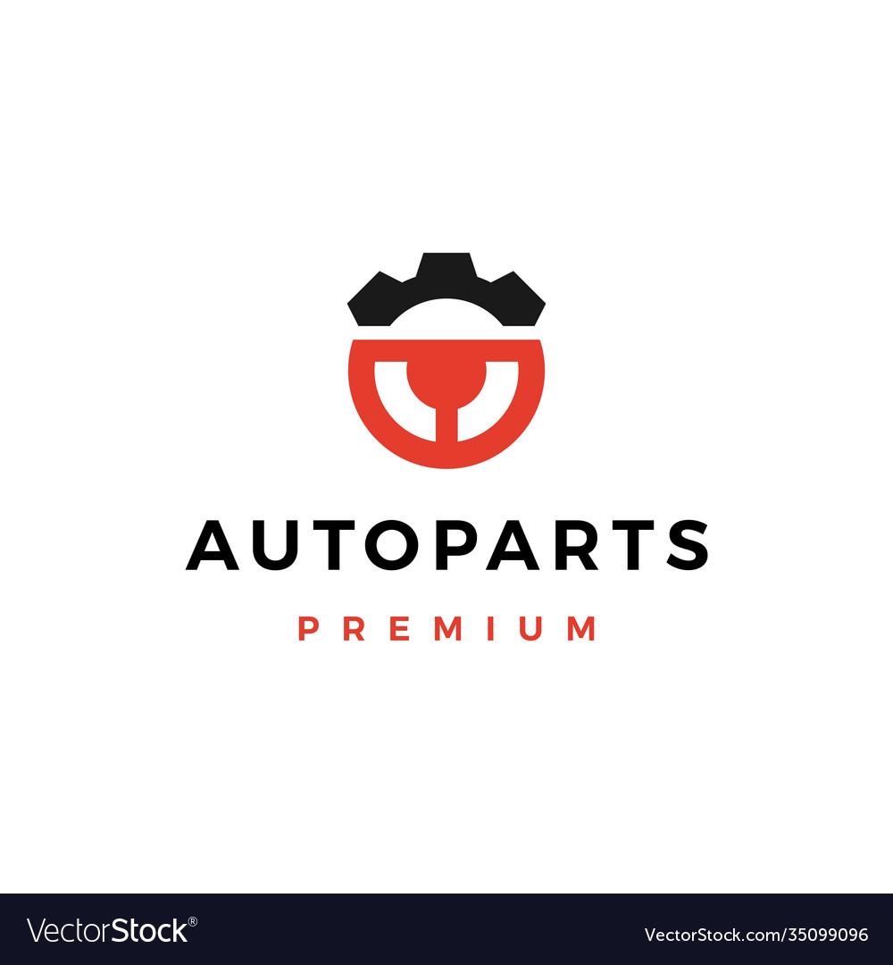 Automotive part service logo icon