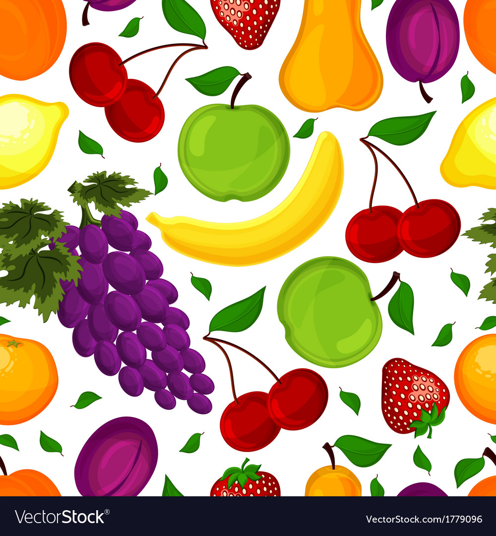 Seamless pattern for a healthy lifestyle