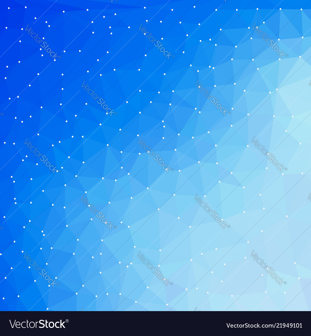 Blue technology digital background with triangle