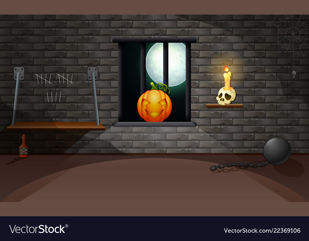 Decoration house of halloween