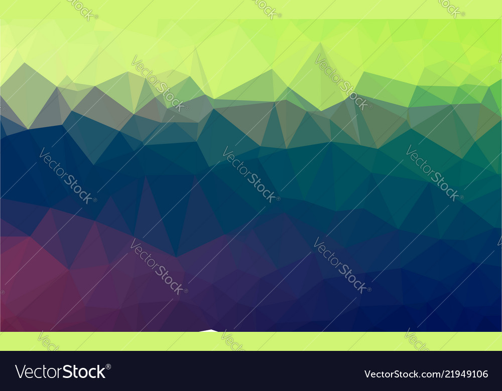 Light blue green lowpoly background with