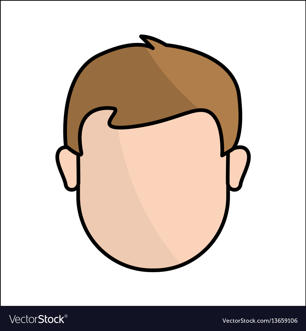 People avatar face man icon