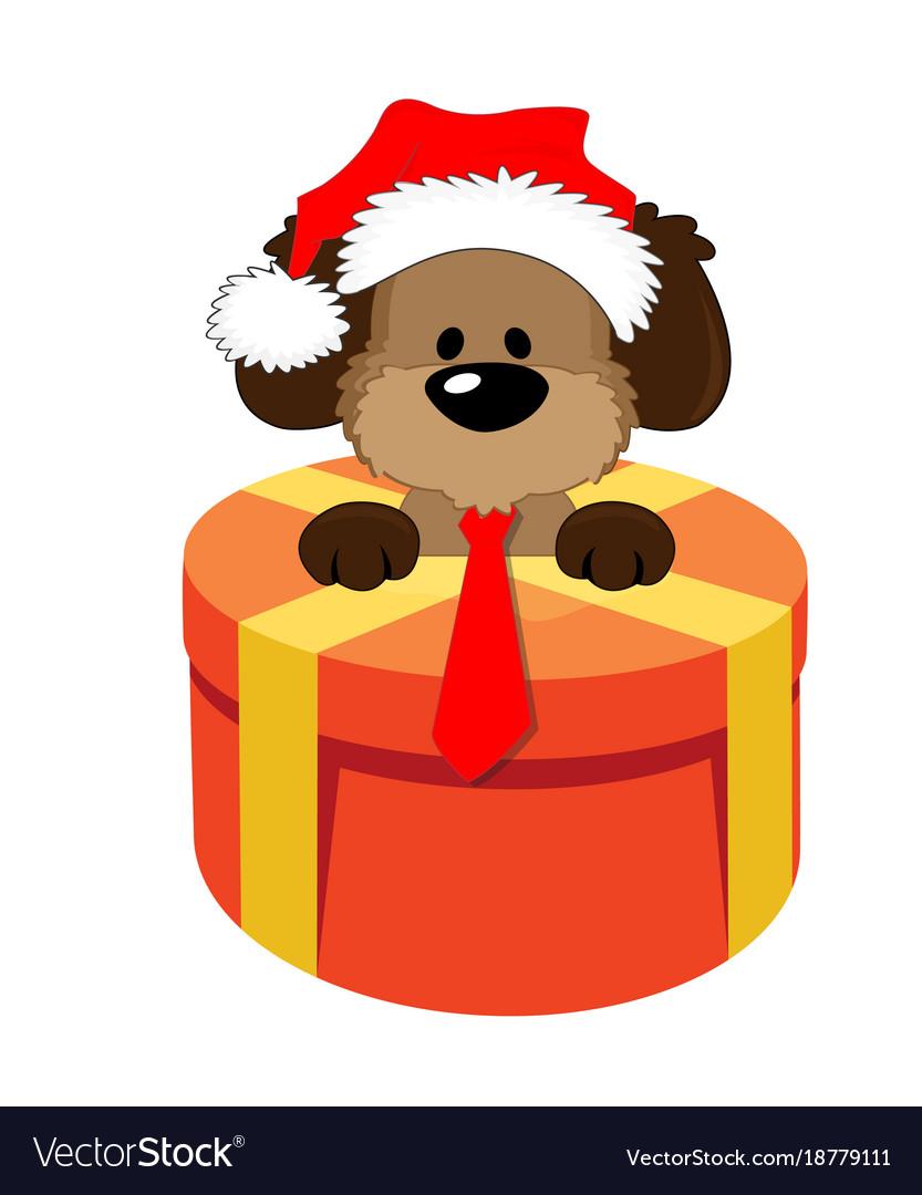 Happy christmas symbol dog gift 2018