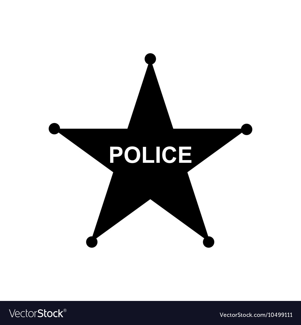 Police star icon