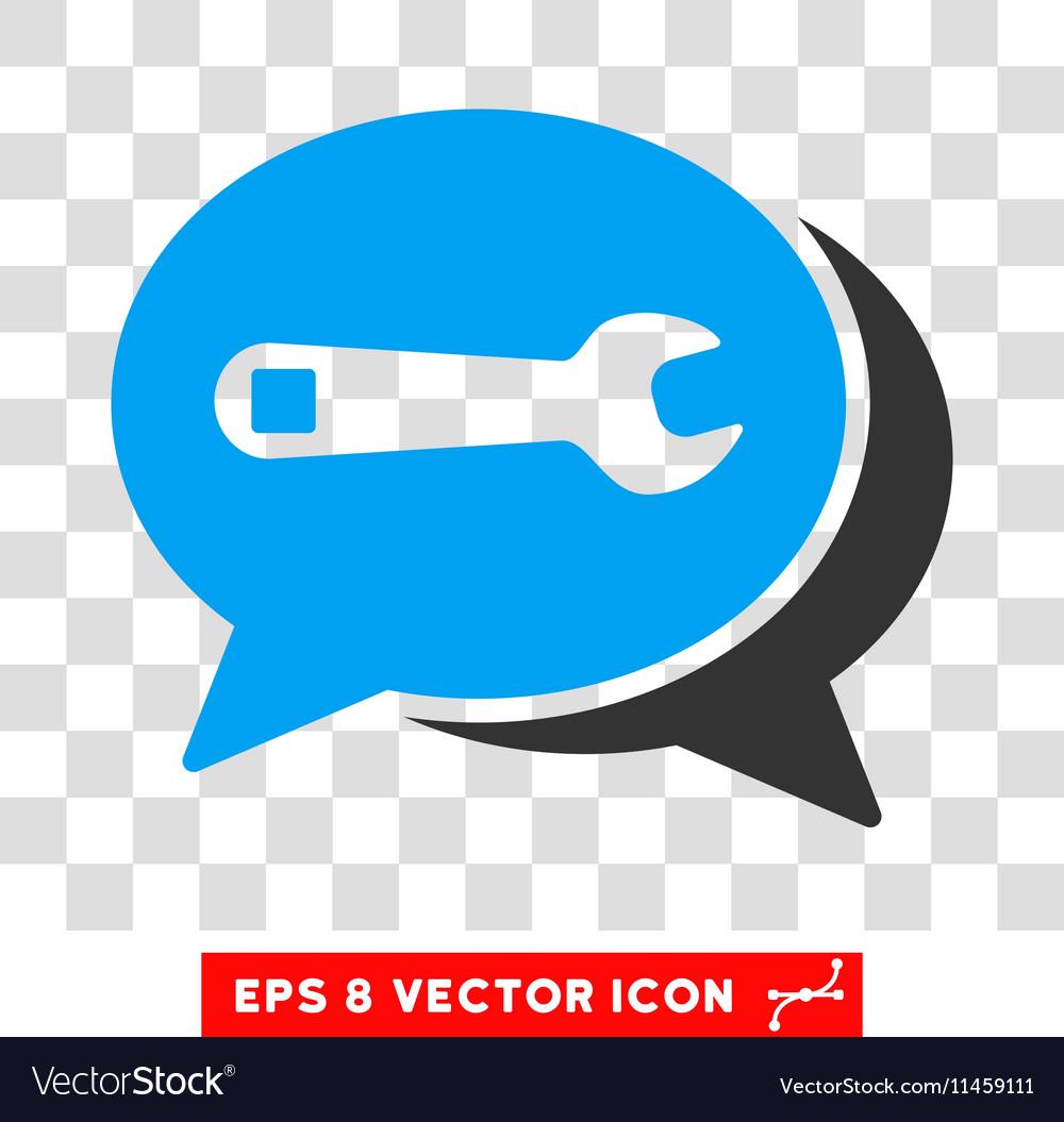 Repair Chat Eps Icon