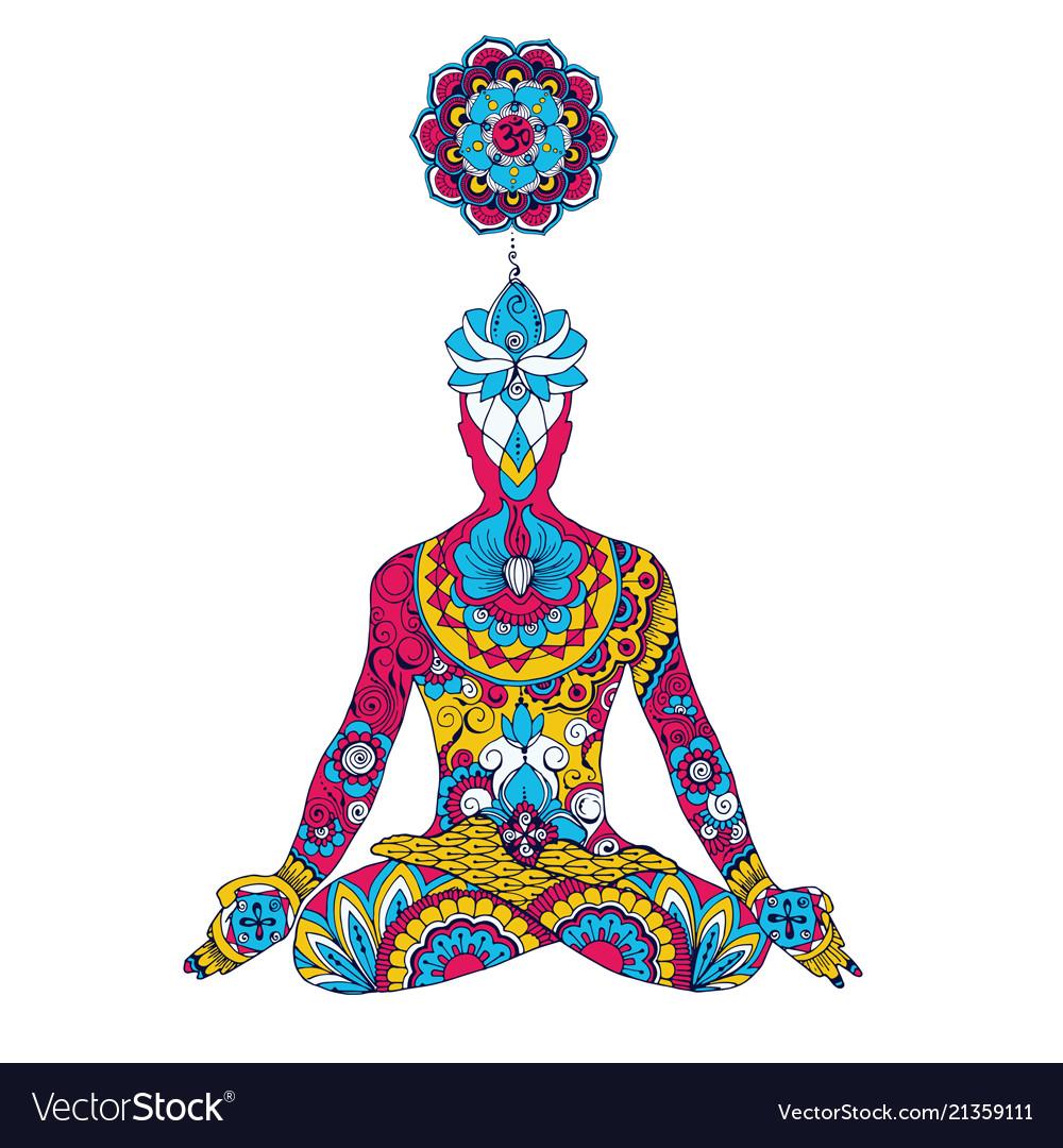 Lotus Pose Chakra