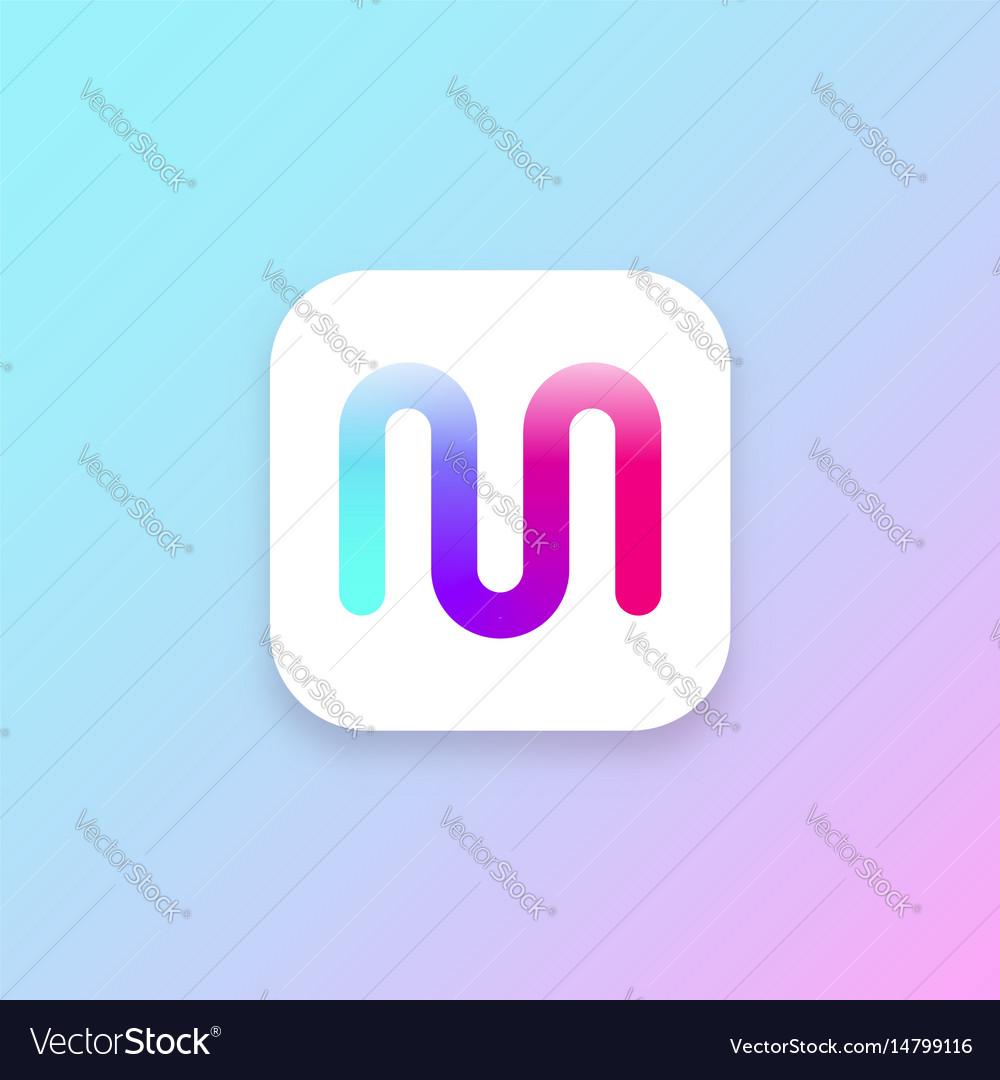 App icon ui design element