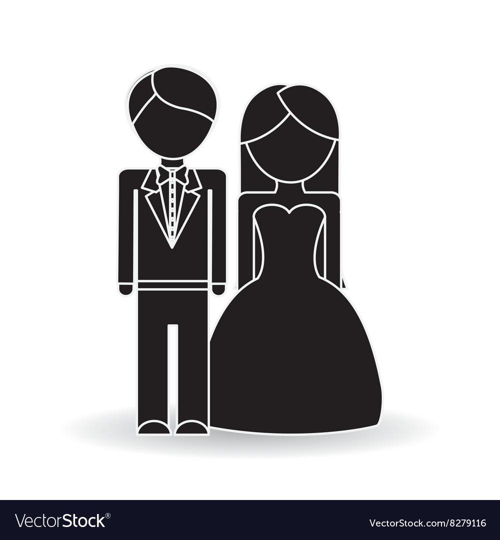 Wedding icon design