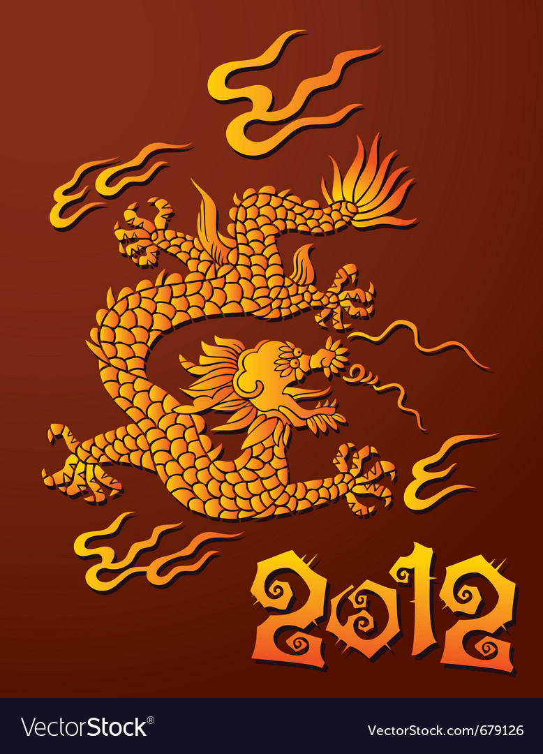 Dragon symbol of the year