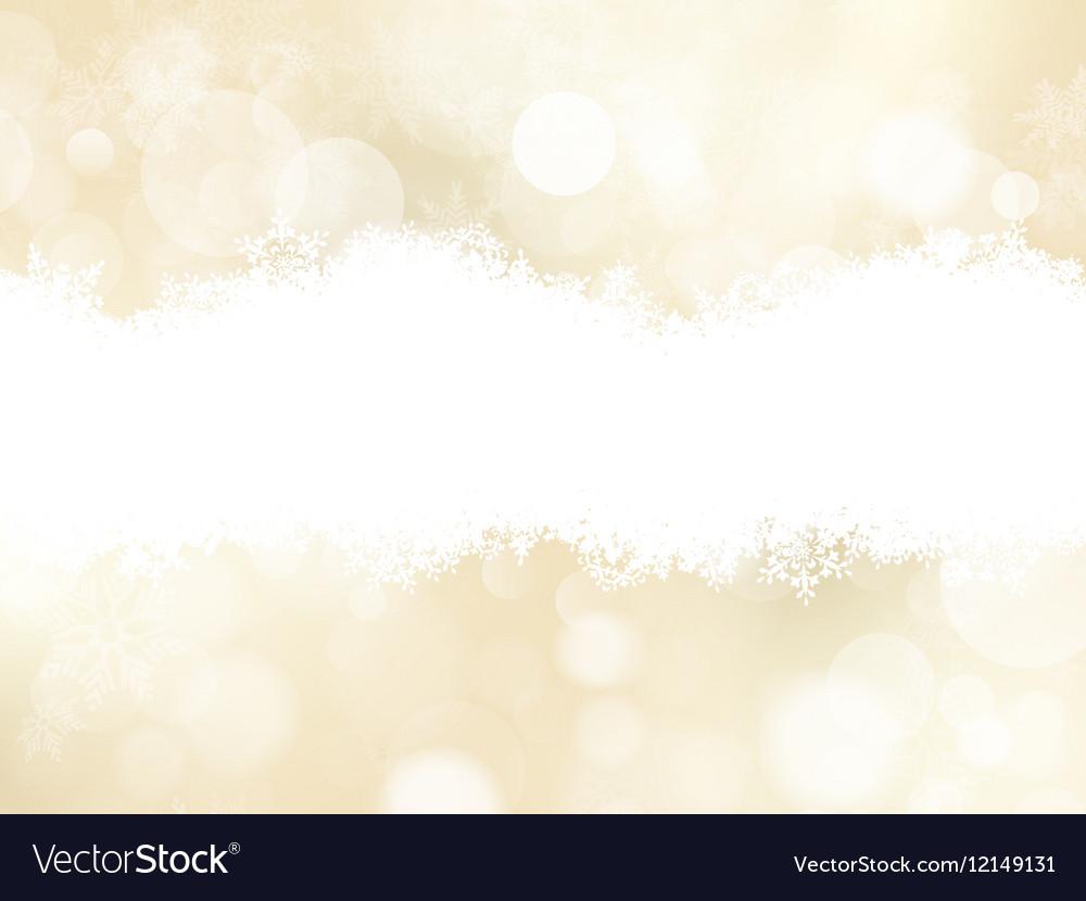 Christmas Festive defocused lights EPS 10 vector image