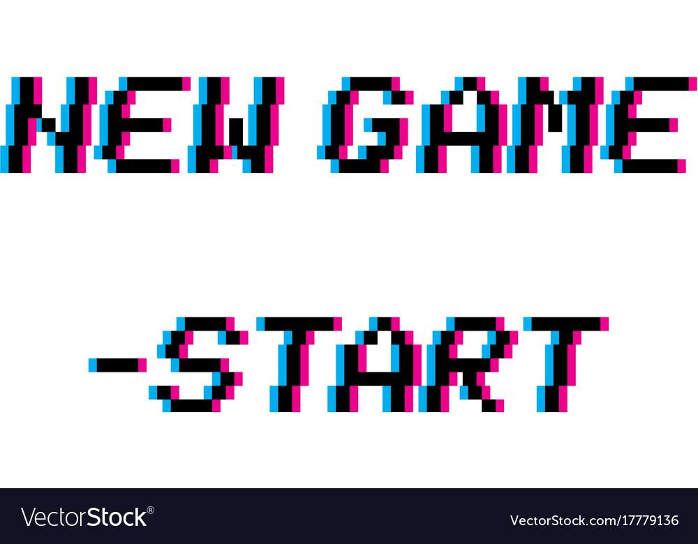 8 bit new game