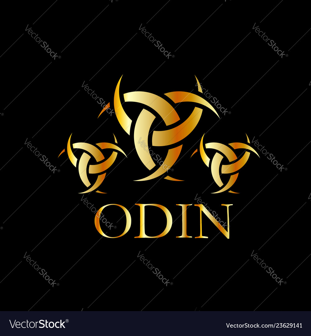 Odin The Graphic Is A Symbol Of The Horns Of Odin