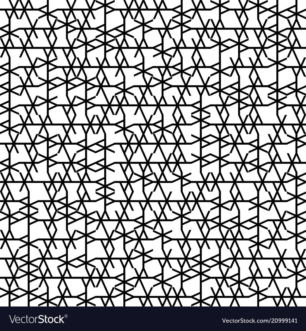 Seamless geometry truchet pattern