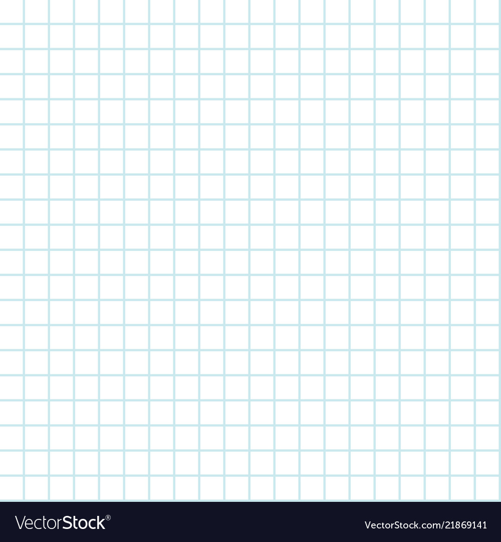 Seamless grid background lined sheet paper