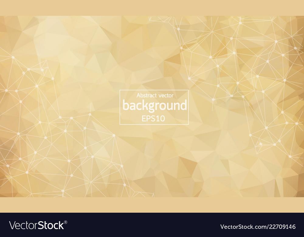 Abstract brown light geometric polygonal