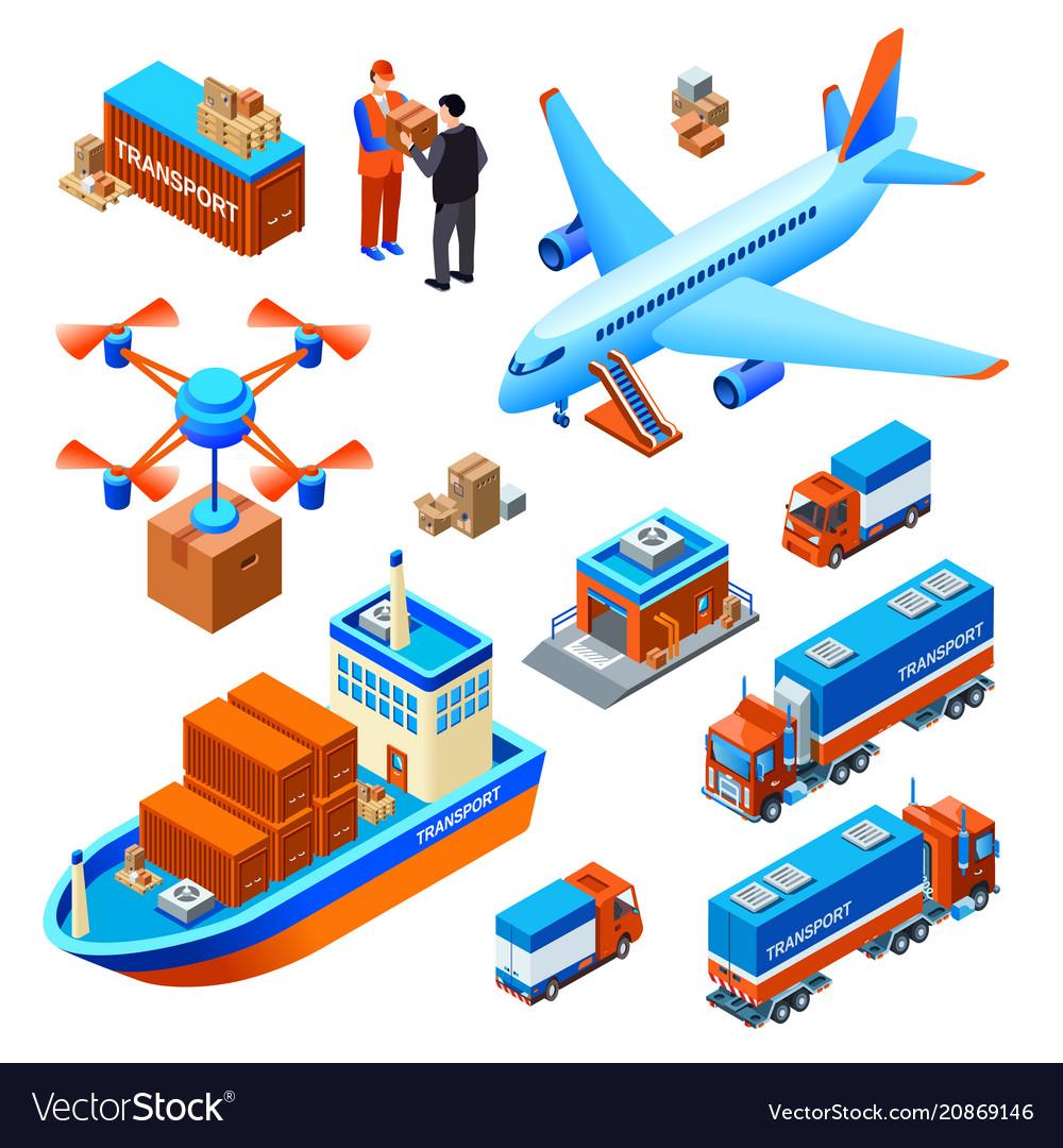 Logistics delivery transport