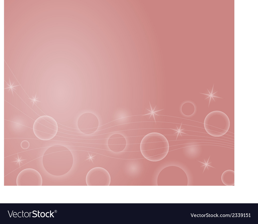 Background with stars ball and lines