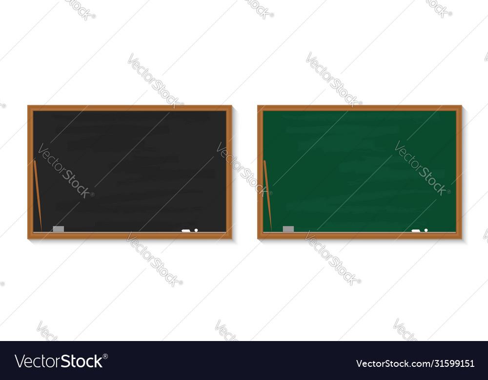 Chalkboard in school blackboard with chalk