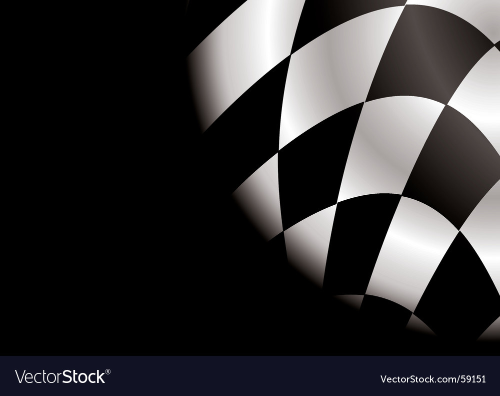 Checkered corner blank