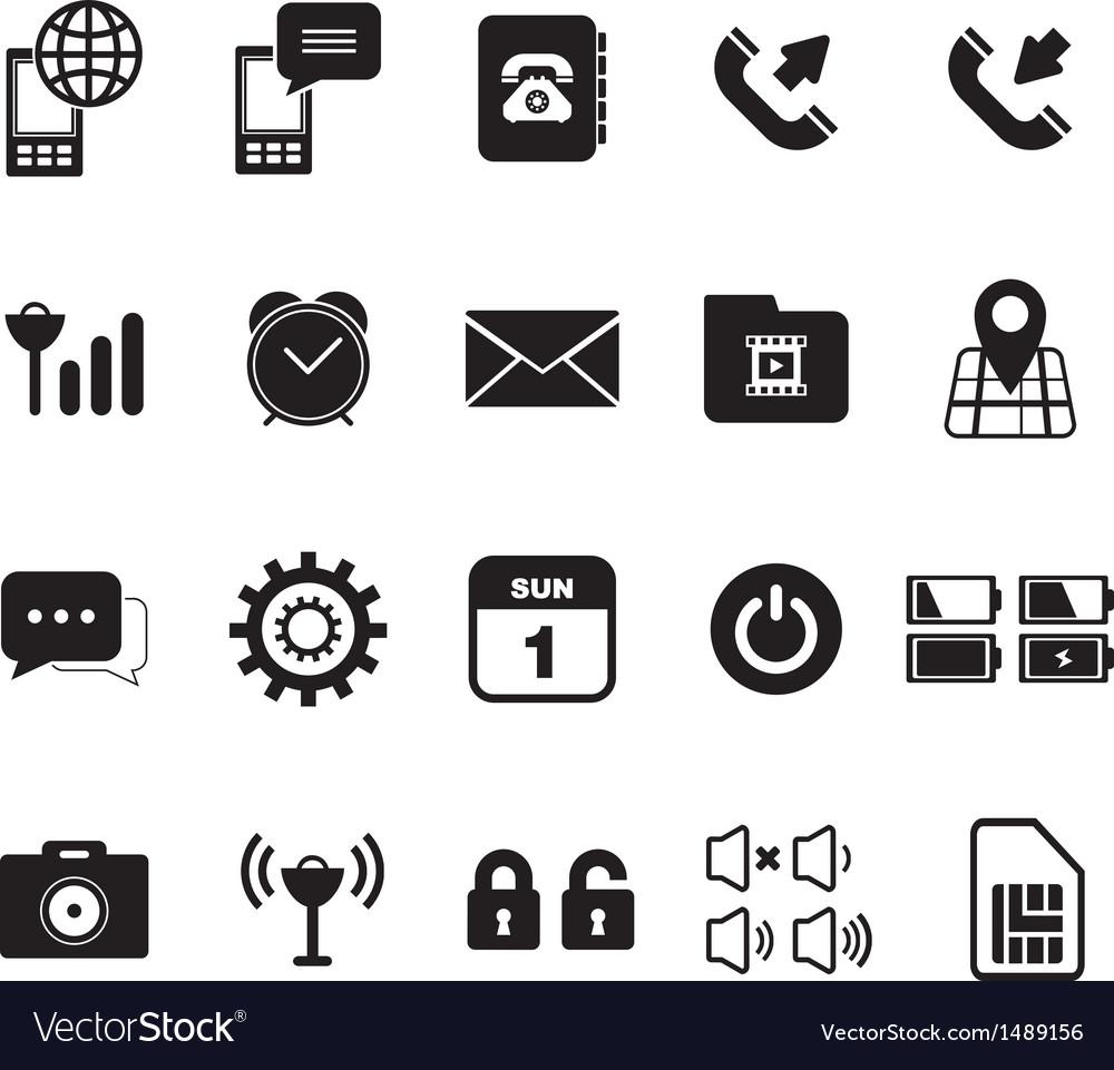 Mobile Icon vector image
