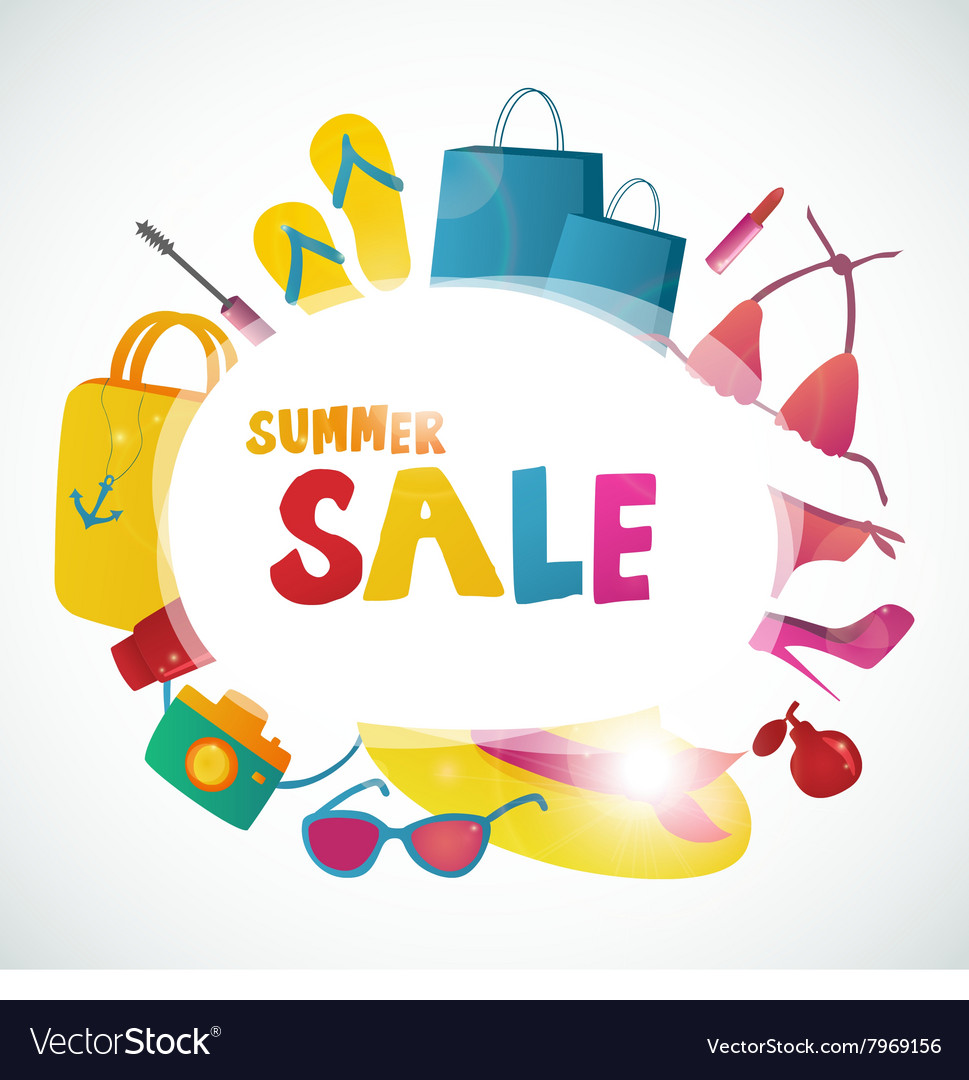 Summer Sale collection background design