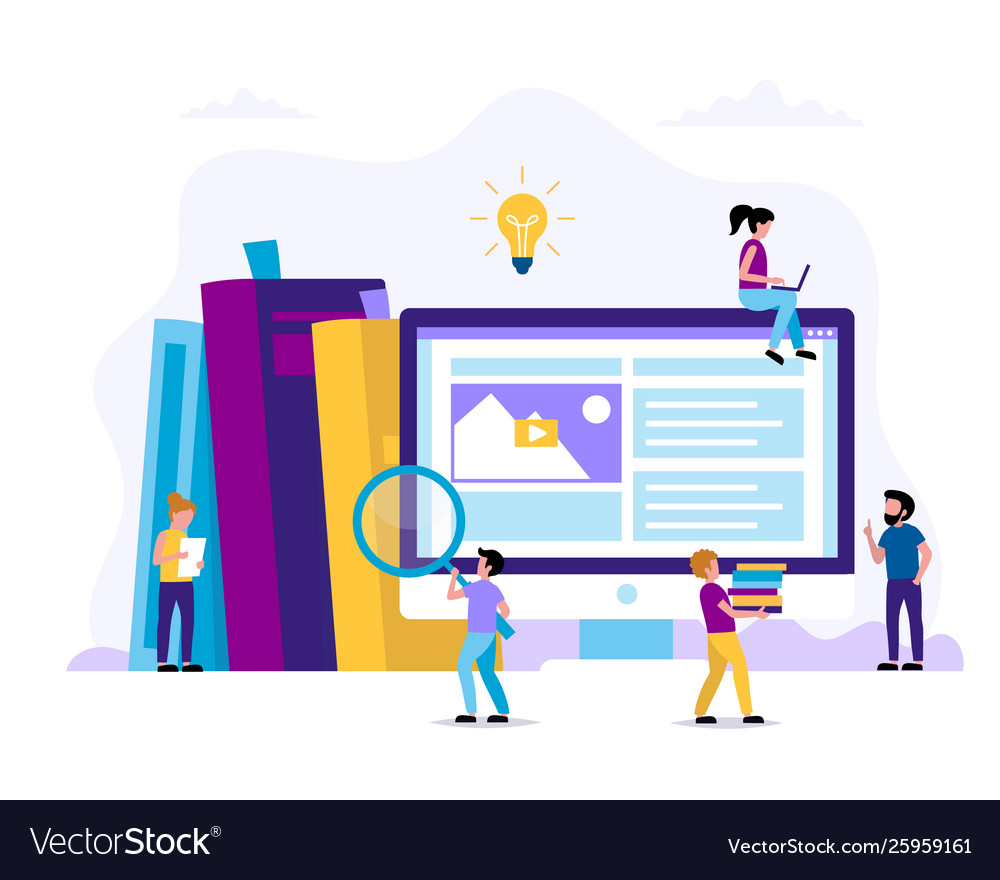 Learning and reading concept for