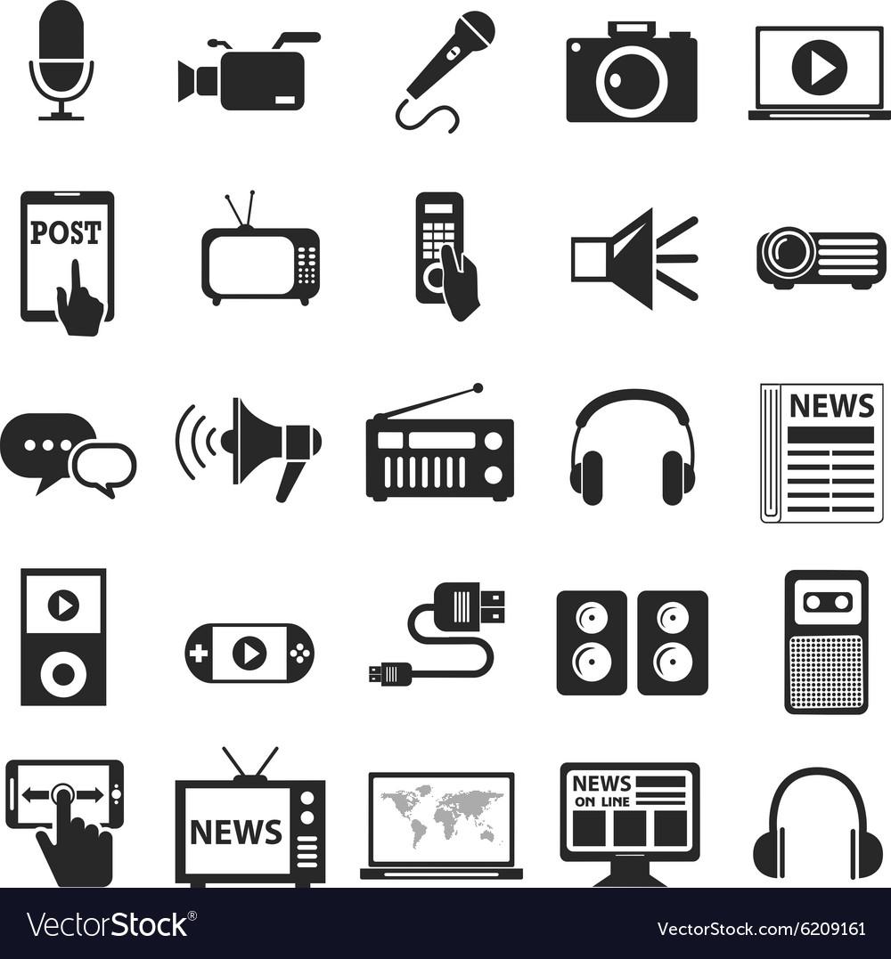 Media Icons Technology
