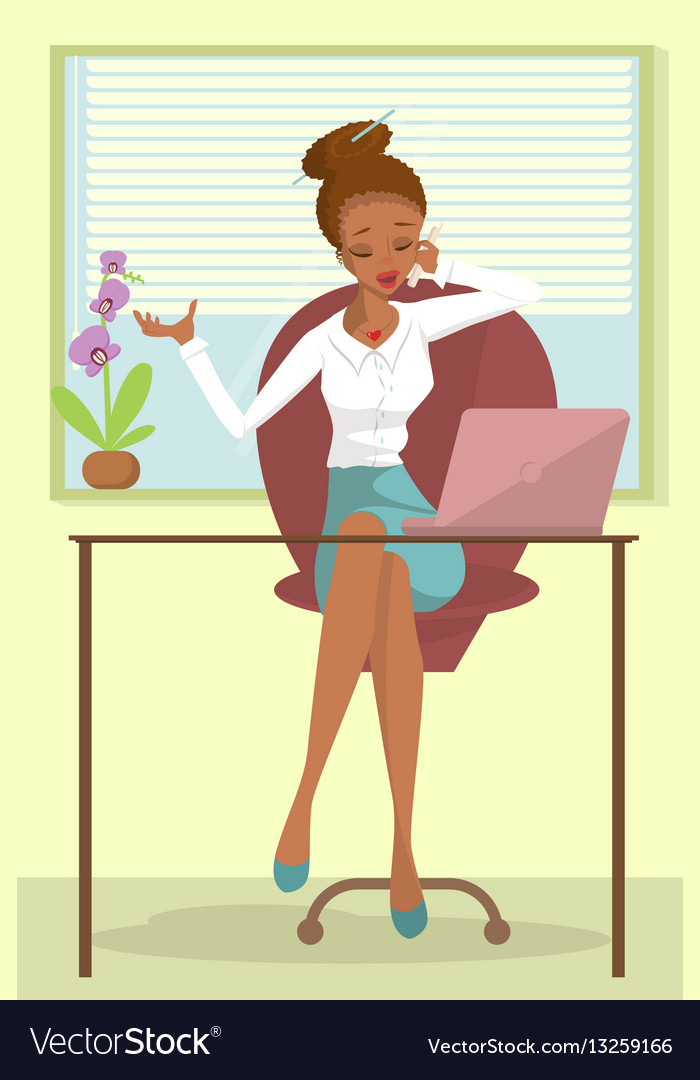 Business african woman