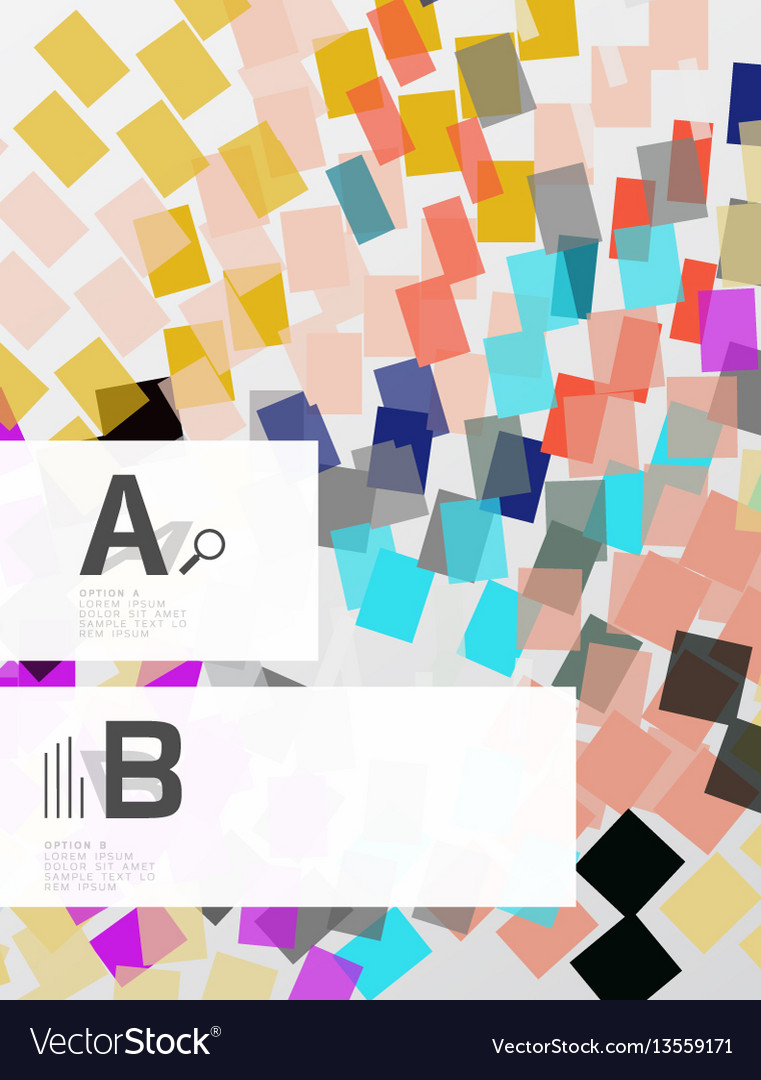 Abstract lines geometrical modern background vector image