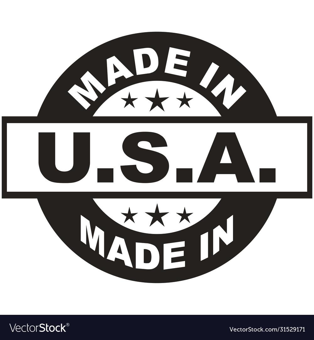 Usa stamp black