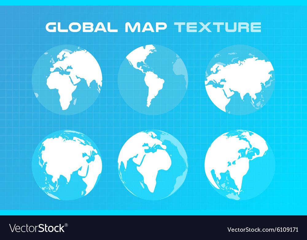World map globe Earth texture