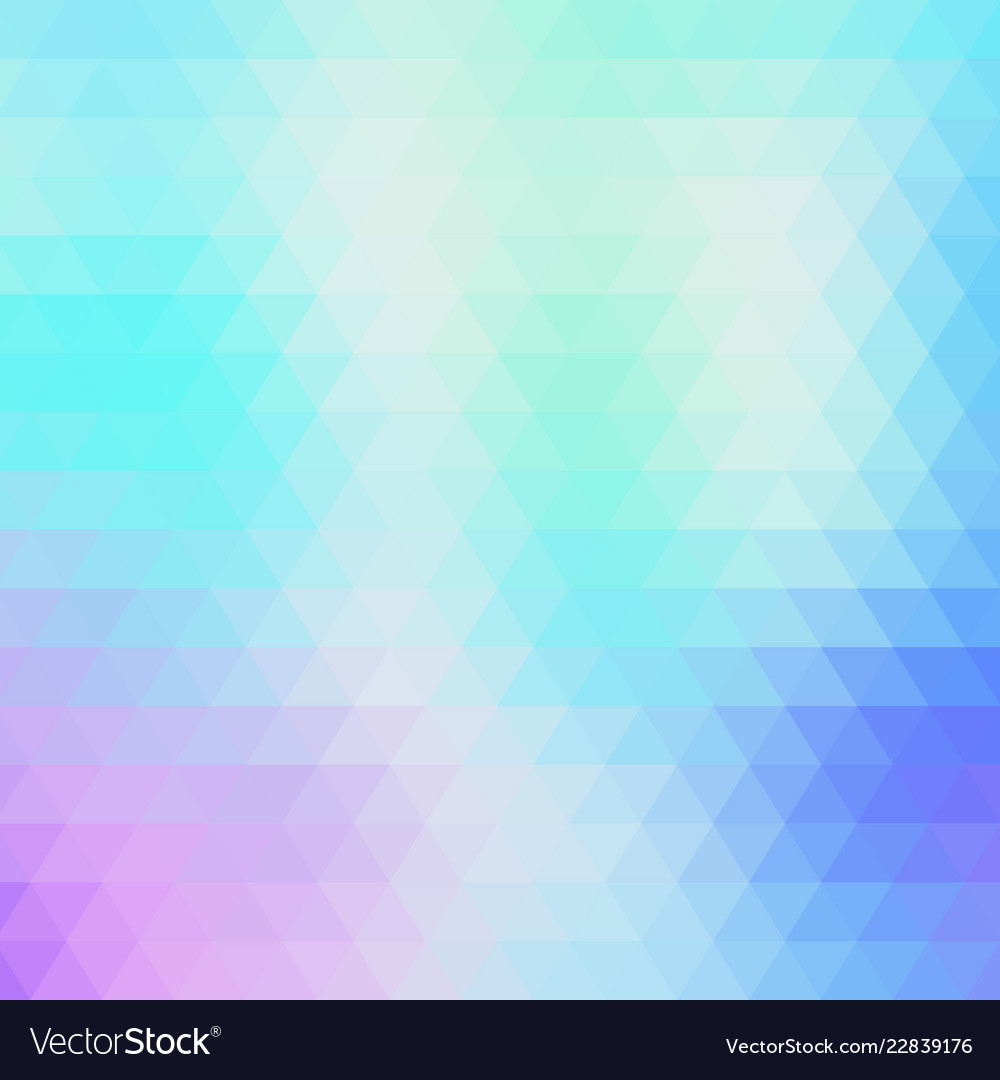 Abstract geometric blue background of triangles