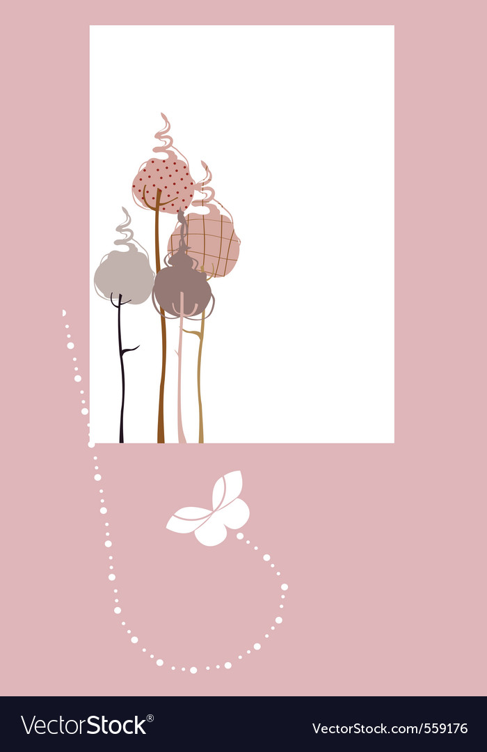 Design greeting card vector image