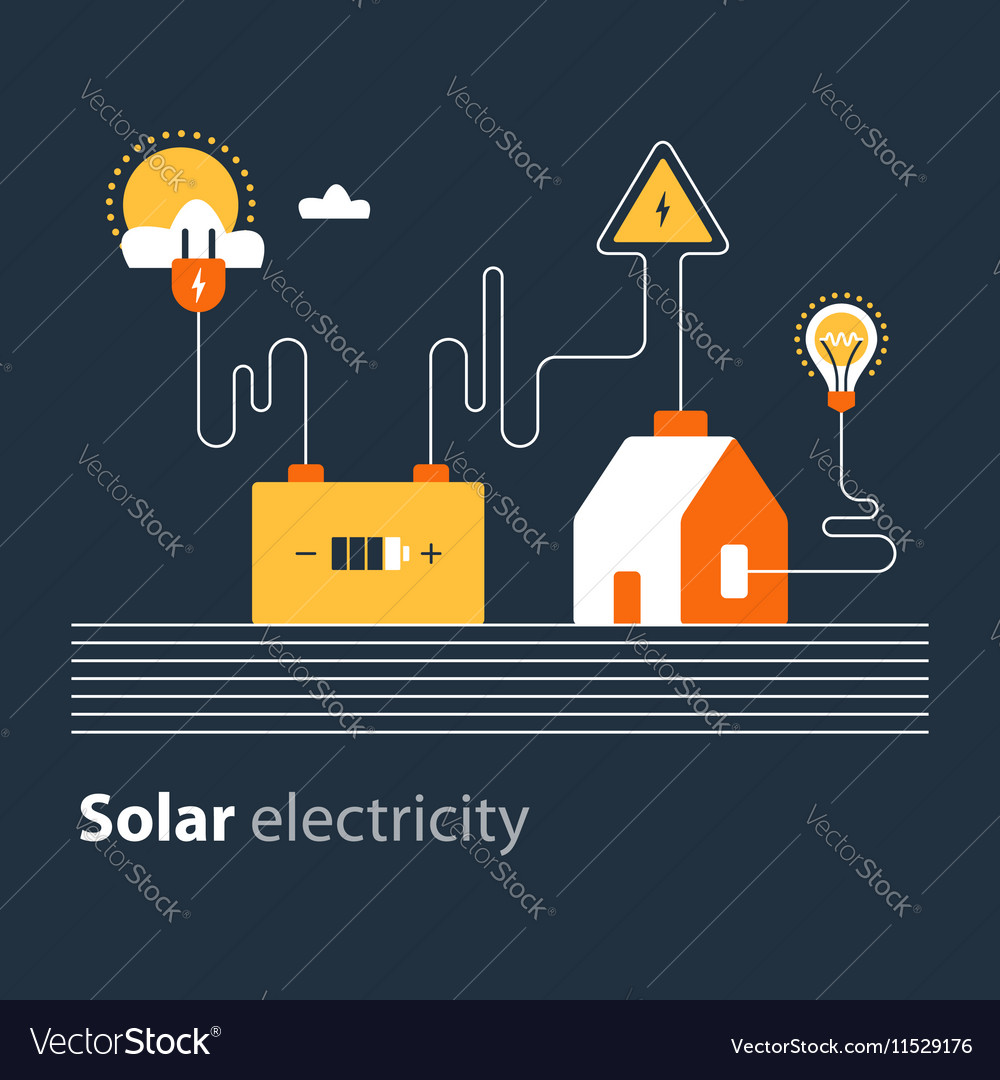 Electricity connection solar electrical supply