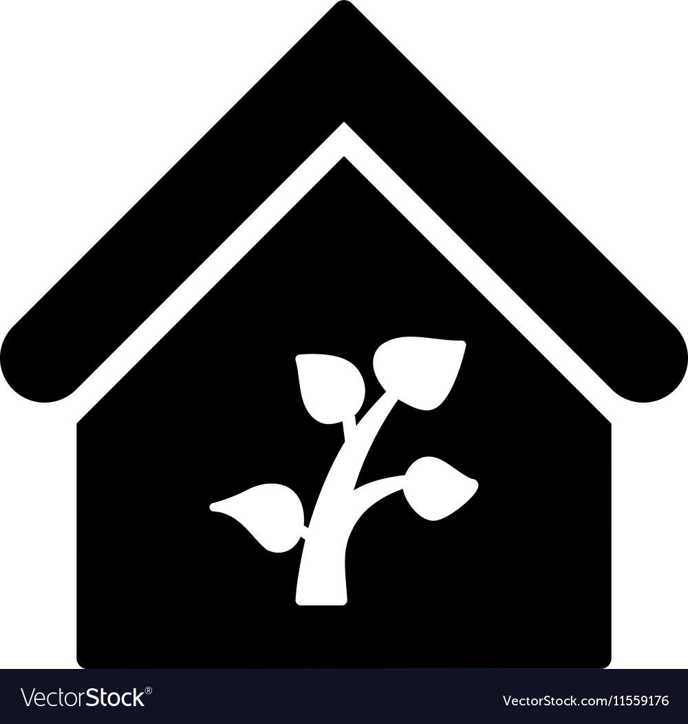 Greenhouse Building Flat Icon