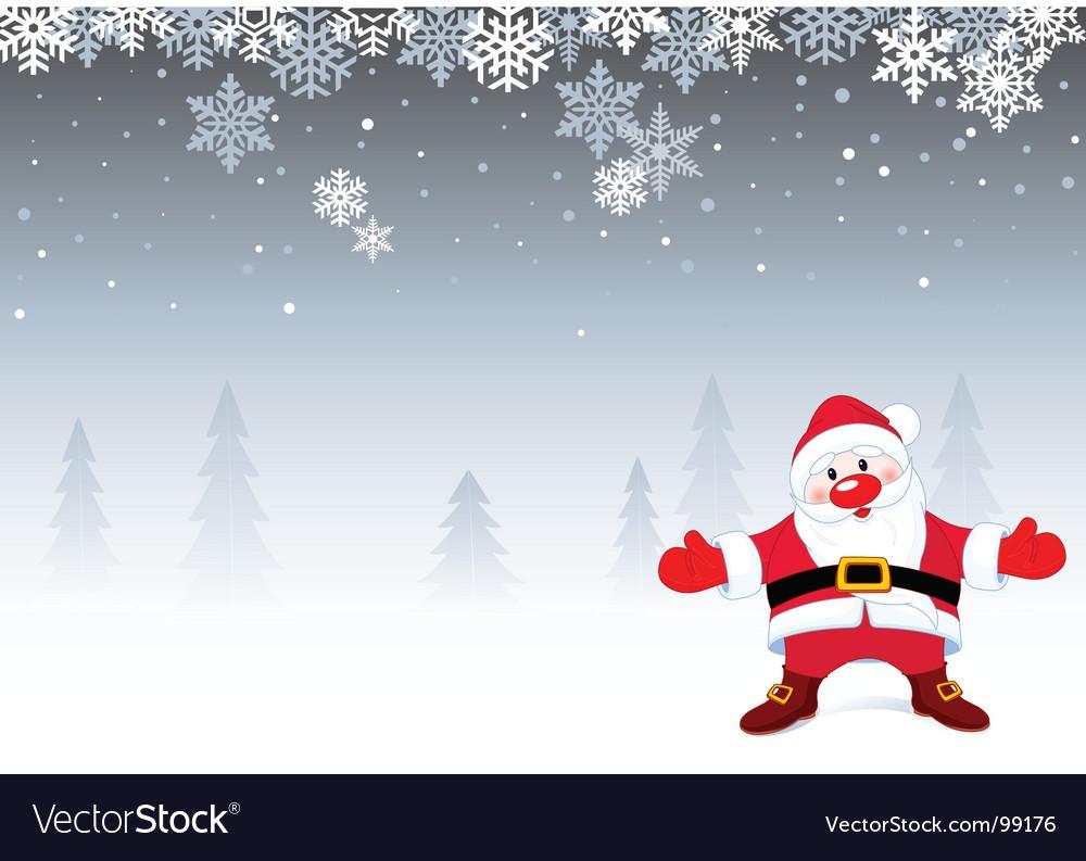 Christmas Backgrounds.Santa Christmas Background