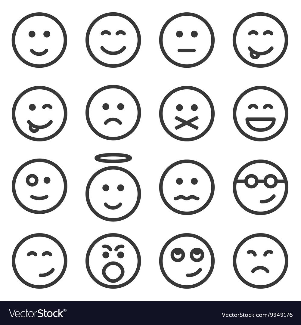 Line Art Emojis : Image emoticon line impremedia