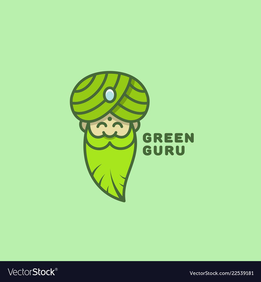 Green guru logo