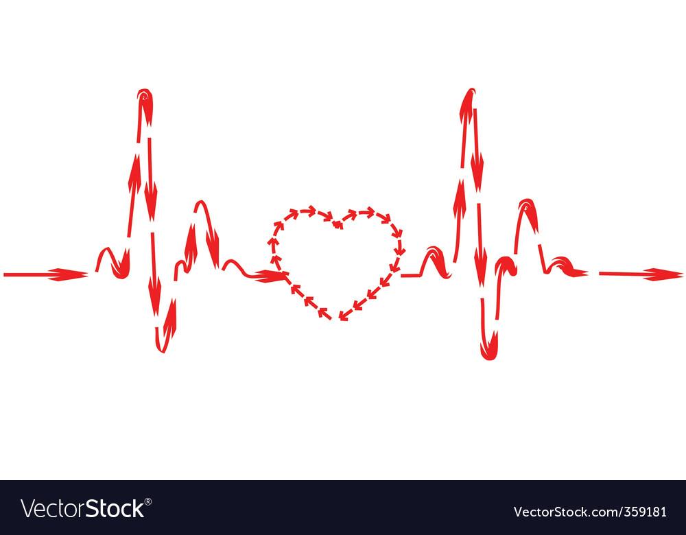 Healthy heart royalty free vector image vectorstock healthy heart vector image ccuart Choice Image