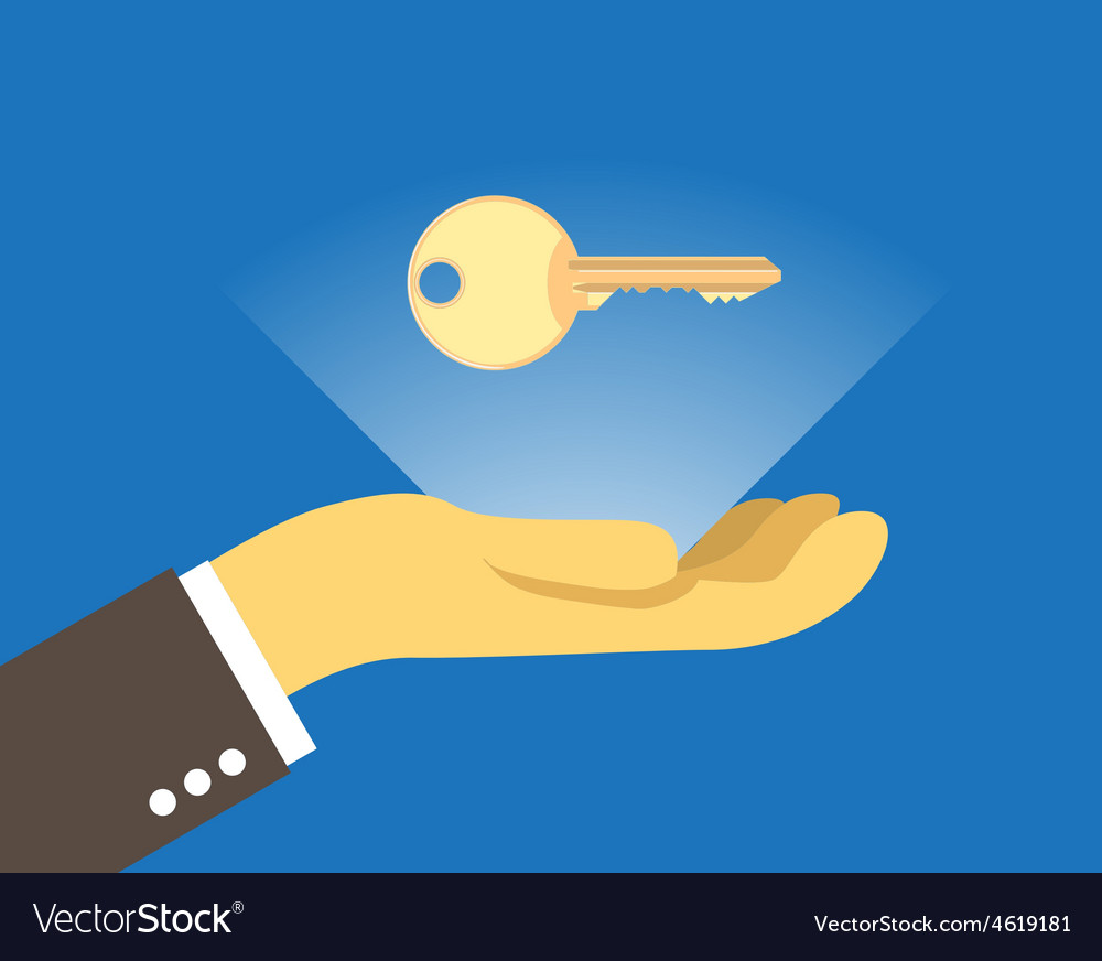 Key over the hand