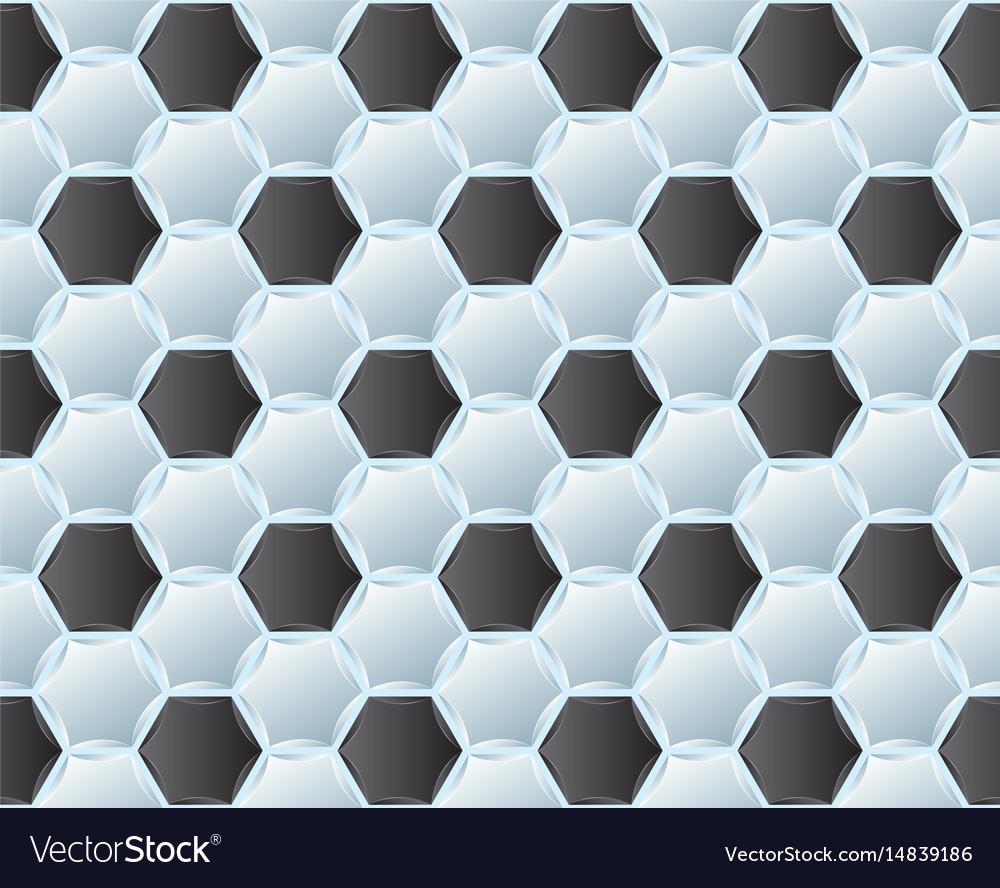 Pattern of soccer ball