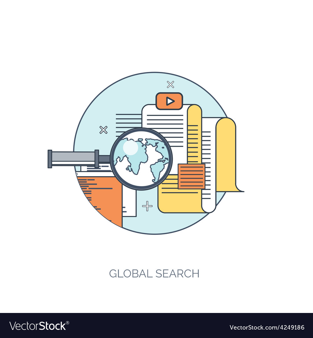 Web search Flat computing