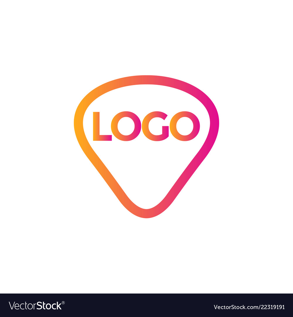 Abstract logo icon background design template