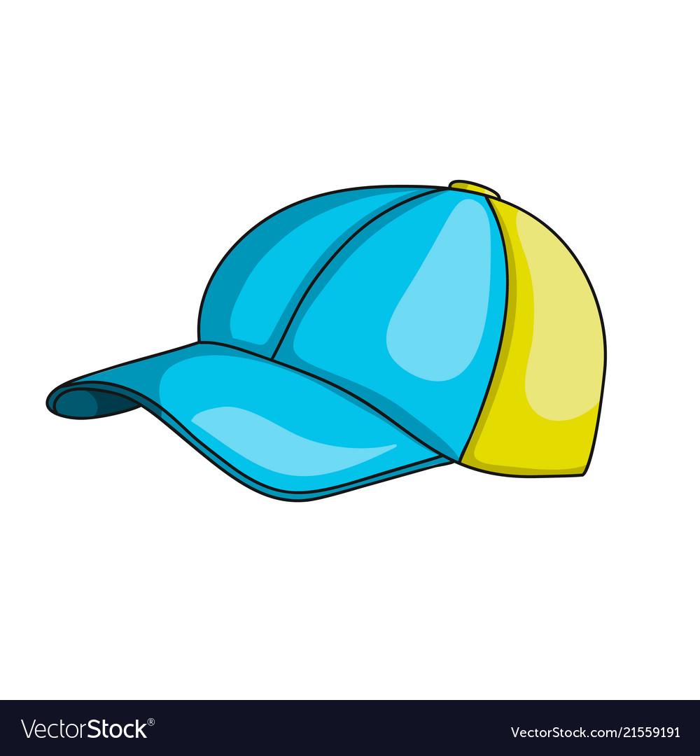 Kids baseball cap icon