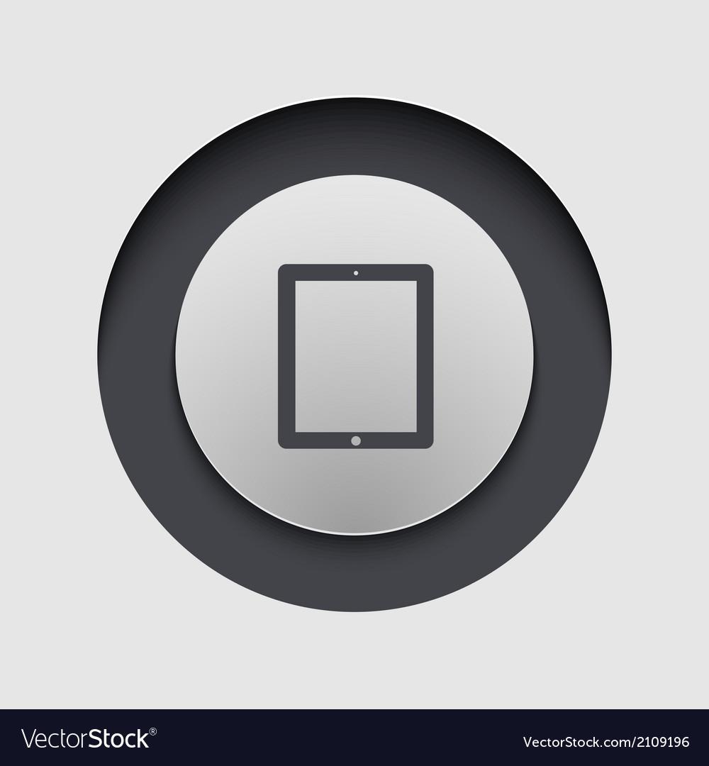 Modern circle icon Eps10