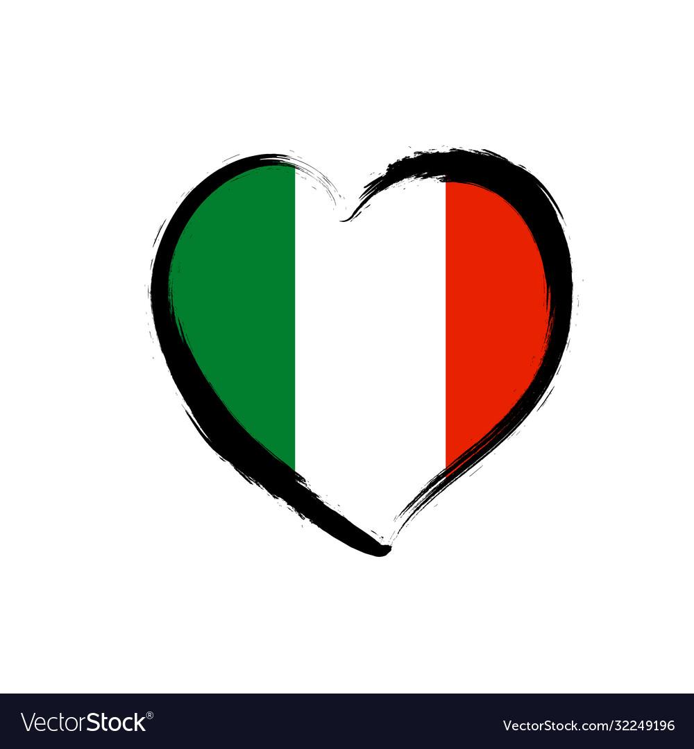 Travel italian love heart grunge icon love italy