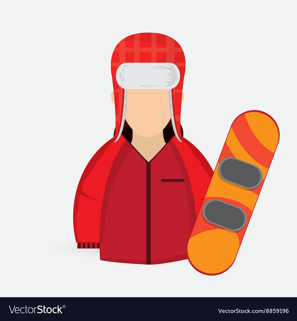 Winter design Sport icon Colorful