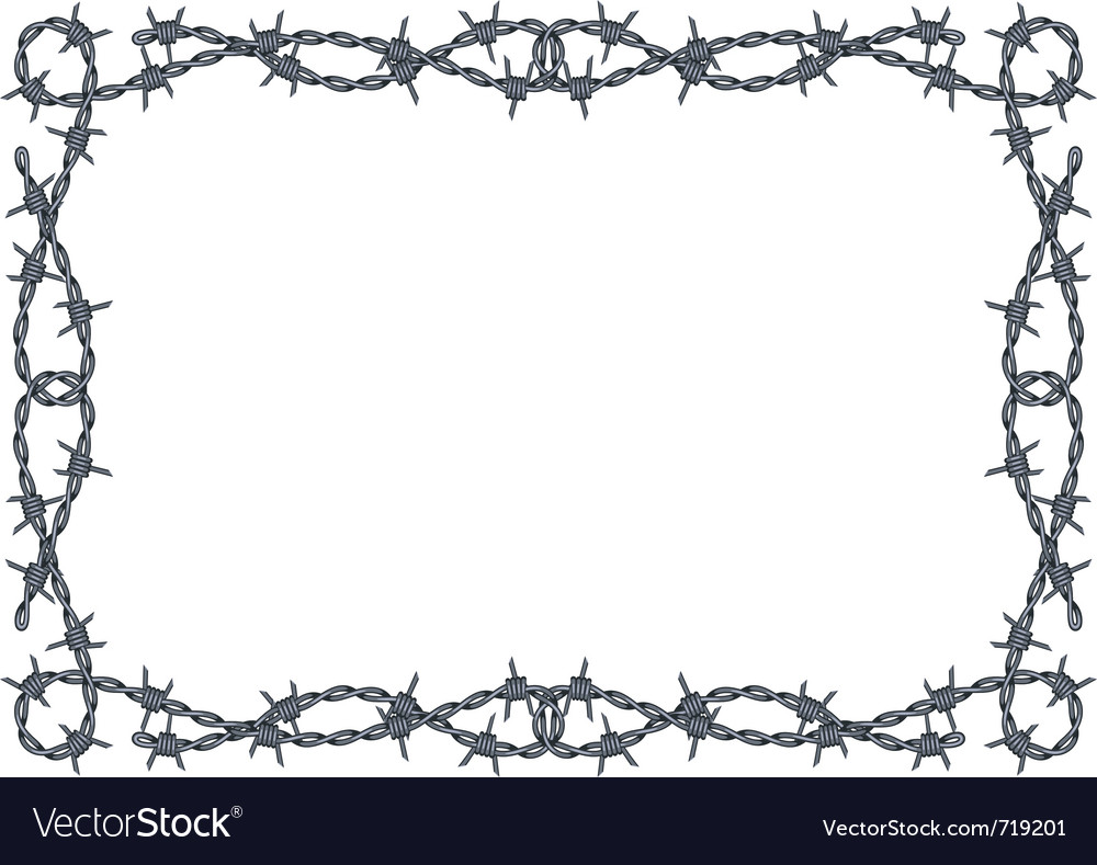 Barbed Wire clip art - vector clip art online, royalty free