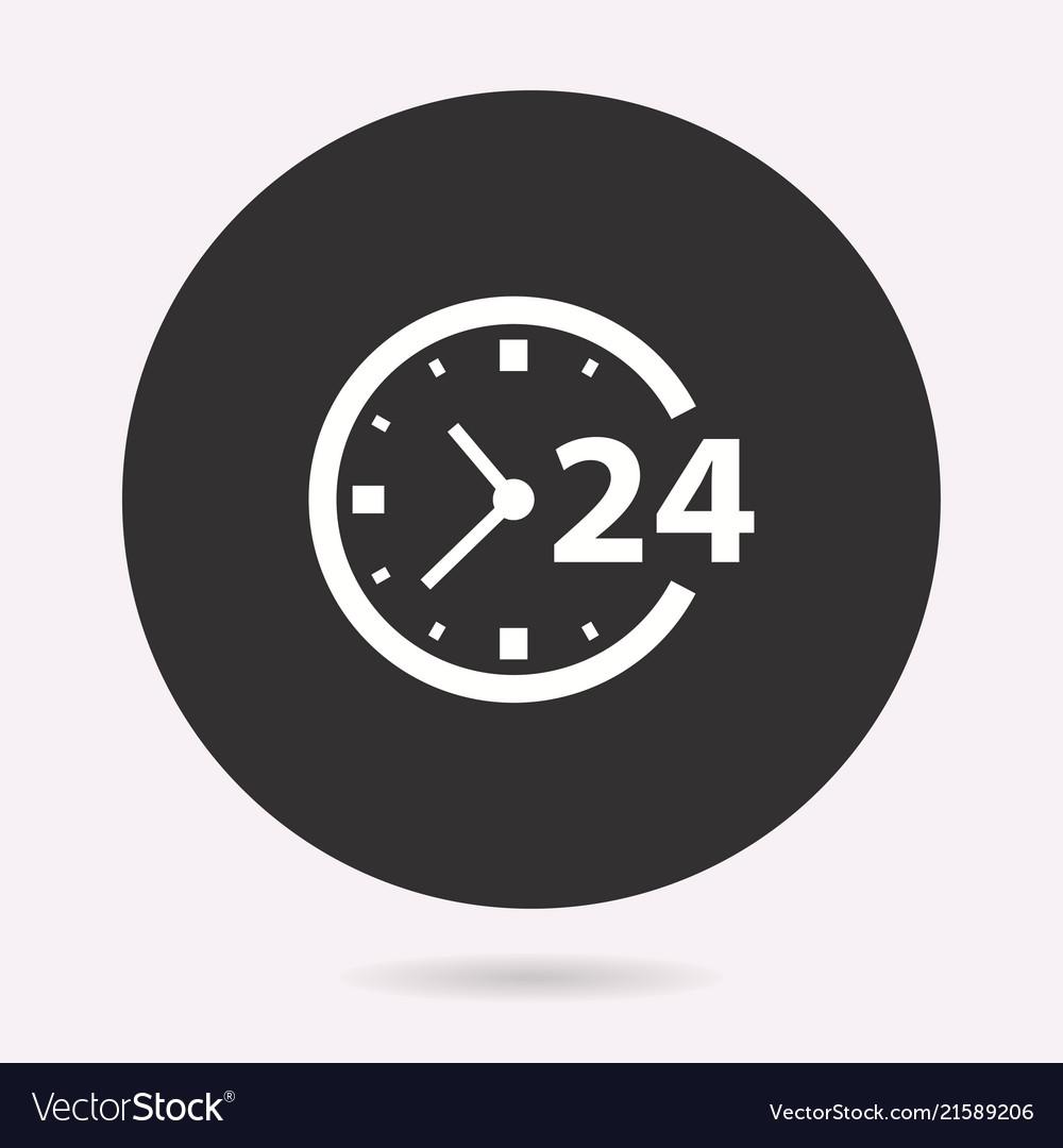 24 hour service - icon