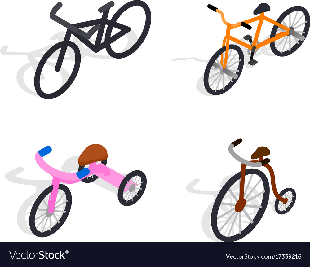 Bicycle set for family ride